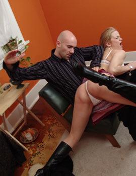 spanking hintern frau ist geil